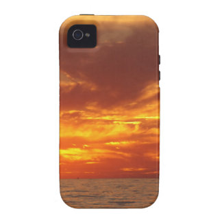 Sunset fire iPhone 4 case