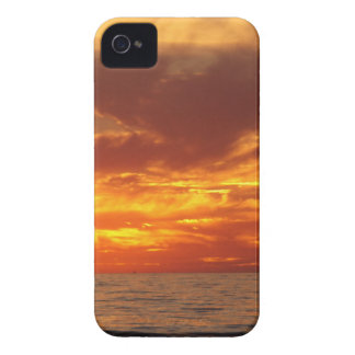 Sunset fire iPhone 4 covers