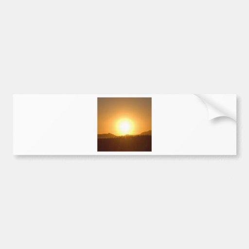 Sunset Fire Scope Bumper Stickers