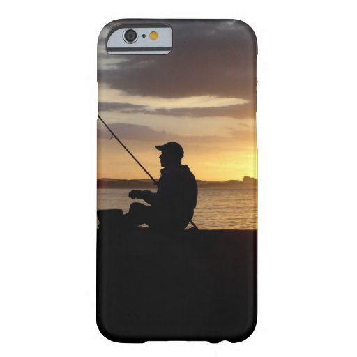 Sunset Fishing Point Of View iPhone 6 Case