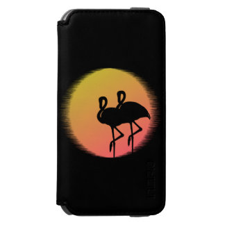 Sunset Flamingo Incipio Watson™ iPhone 6 Wallet Case