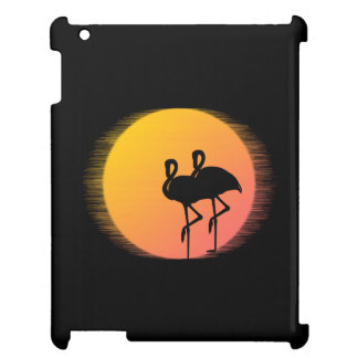 Sunset Flamingo Tranquility Cover For The iPad
