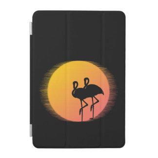 Sunset Flamingo Tranquility iPad Mini Cover