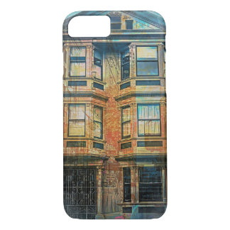 Sunset for a Victorian in SanFrancisco Mission SFC iPhone 7 Case