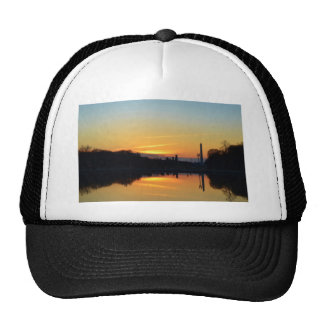 Sunset from Capitol Hill. Mesh Hats