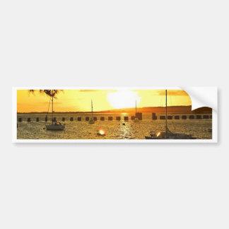 Sunset from Hayling Island Bumper Sticker