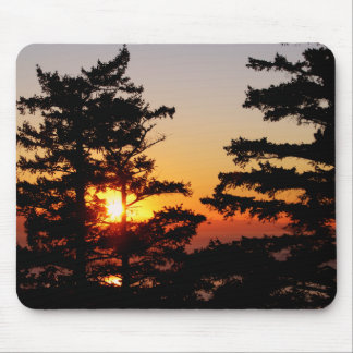 Sunset From Mt. Erie Mousepad