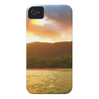 Sunset from Palm Cove Jetty iPhone 4 Cover