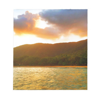 Sunset from Palm Cove Jetty Notepad