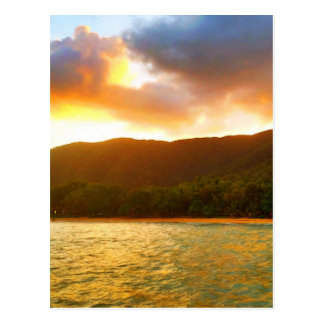 Sunset from Palm Cove Jetty Postcard