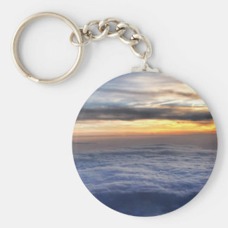 Sunset from the Sky Key Chain