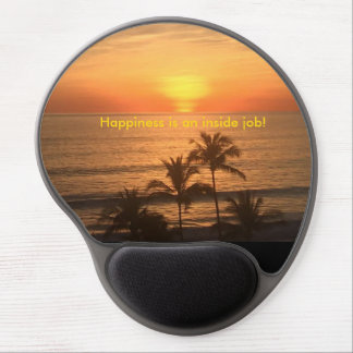Sunset Gel Mouse Pad - Happiness