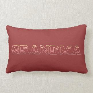 Sunset Grandma Butterfly Lumbar Cushion