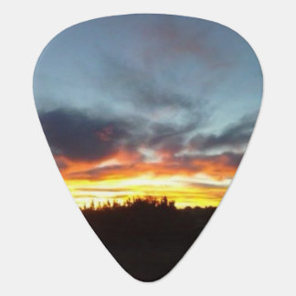 Sunset Guitar Pick