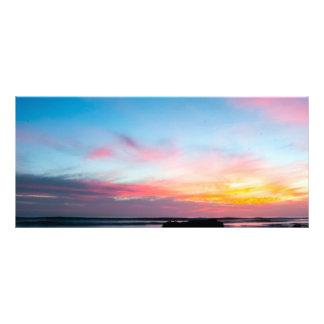 Sunset Handry's Beach Customized Rack Card
