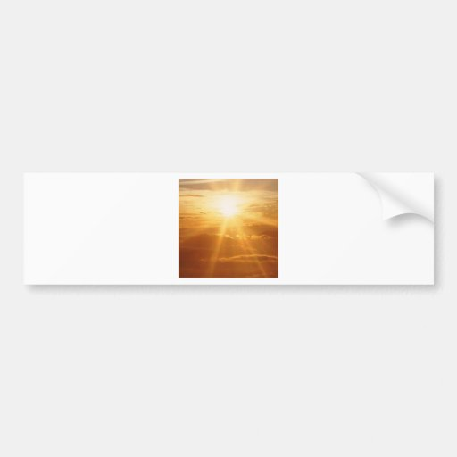 Sunset Heavens View Bumper Stickers