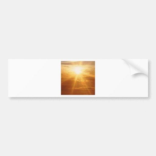 Sunset Heavens View Bumper Stickers