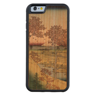 Sunset Hill, Meguro in the Eastern Capital. Cherry iPhone 6 Bumper Case