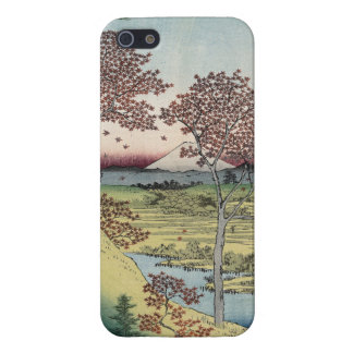 Sunset Hill, Meguro in the Eastern Capital. iPhone 5 Case