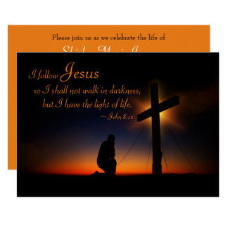 Sunset Holy Cross Memorial Service Announcement