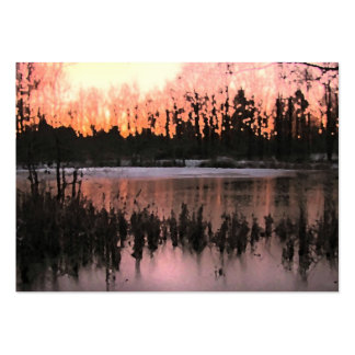 Sunset Impressions ATC Pack Of Chubby Business Cards