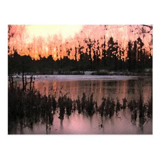 Sunset Impressions Postcard