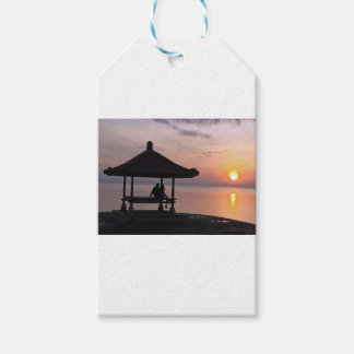 Sunset in Bali Gift Tags