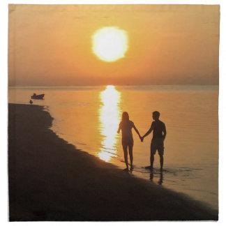Sunset in Bali Napkin