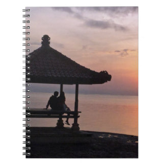 Sunset in Bali Notebook