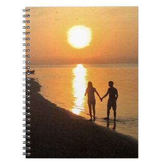 Sunset in Bali Notebook