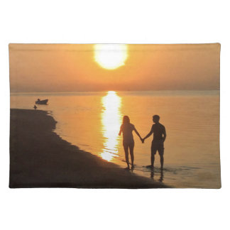 Sunset in Bali Placemat