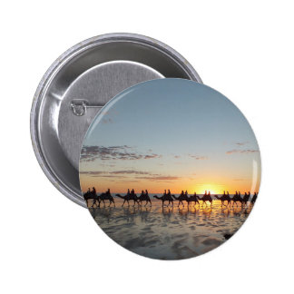 Sunset in Broome 6 Cm Round Badge