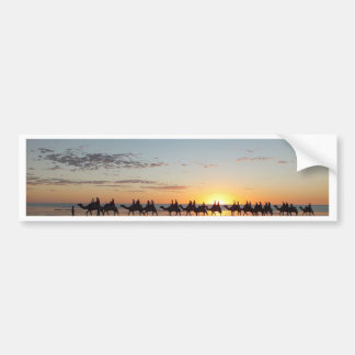Sunset in Broome Bumper Sticker
