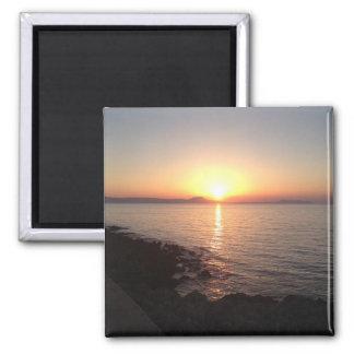 Sunset in Crete Magnet