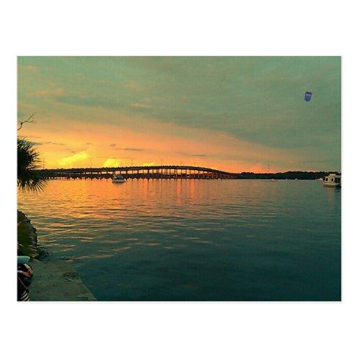 Sunset in Florida Postcards