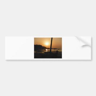 Sunset in Goa Bumper Sticker