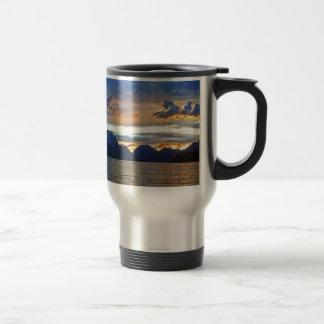 Sunset in Grand Teton National Park Travel Mug