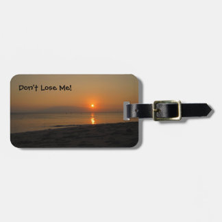 Sunset in Hawaii Luggage Tag