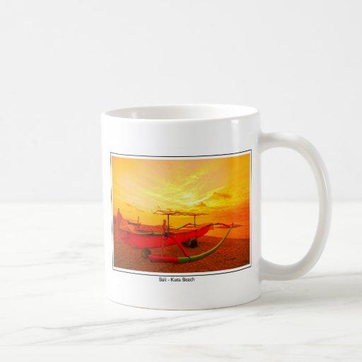 Sunset in Kuta Coffee Mug