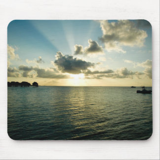 Sunset in Maldives Mouse Pad
