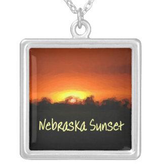 Sunset in Nebrask Pendants
