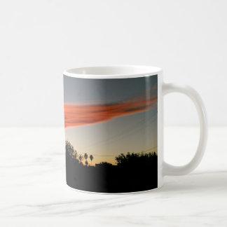 Sunset in November in Spain Mug by IreneDesign2011