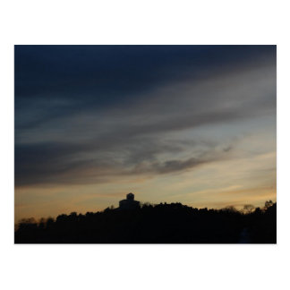 Sunset in Oslo Postcard
