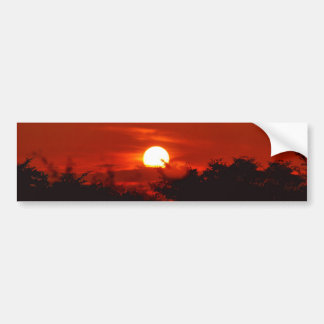 Sunset in paradise bumper stickers