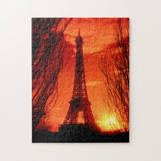 Sunset in Paris Puzzles