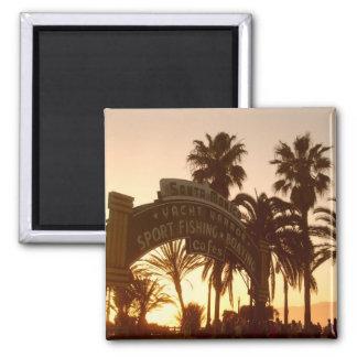 Sunset in Santa Monica Magnet