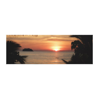 Sunset in Thailand Canvas Print