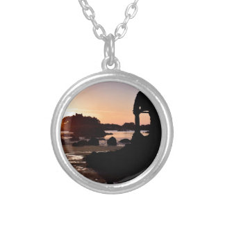 Sunset in the beach of Ploumanac h Necklaces