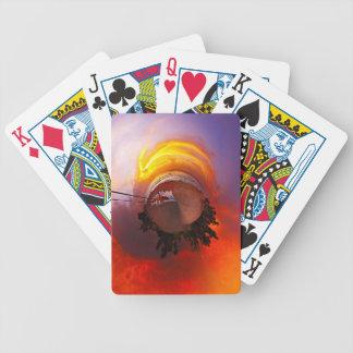 Sunset in the Caribbean Poker Deck