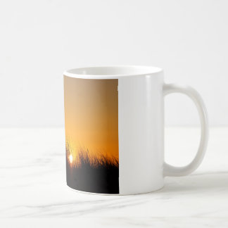 Sunset in the dunes coffee mug